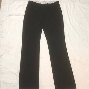 Banana Republic Black Trousers